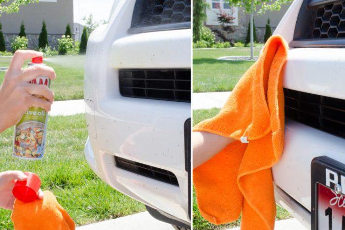 Эффективное средство для чистки кузова.