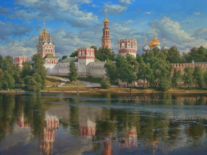 Работы художника Басова Сергея Геннадьевича. Часть 1. (40 фото)