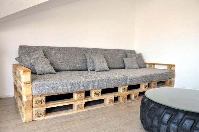 Мебель из паллет.