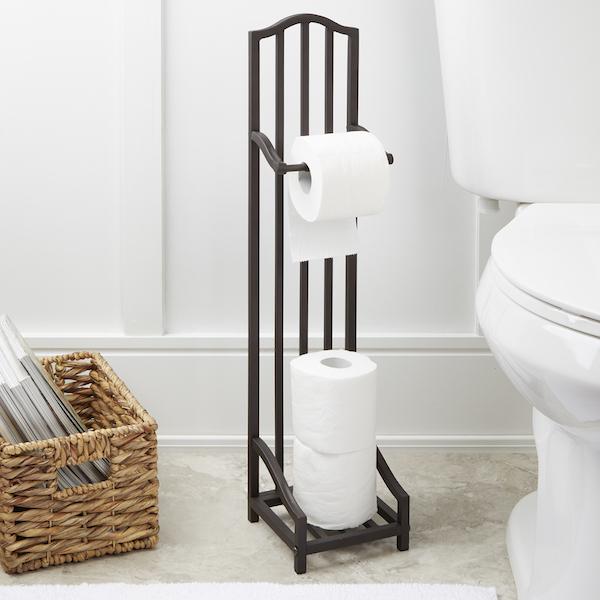 напольный держатель для туалетной бумаги фото