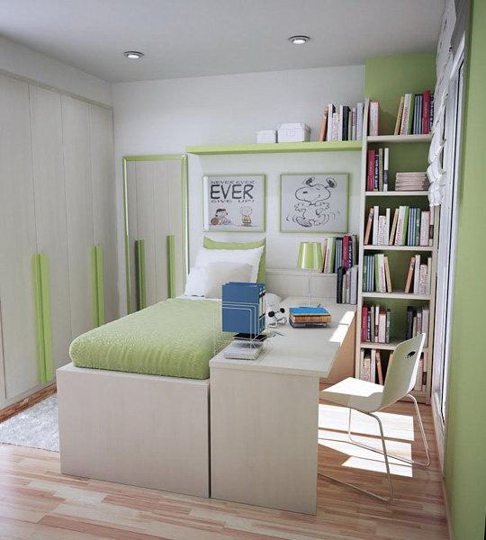 Идеи интерьера для маленькой детской комнаты