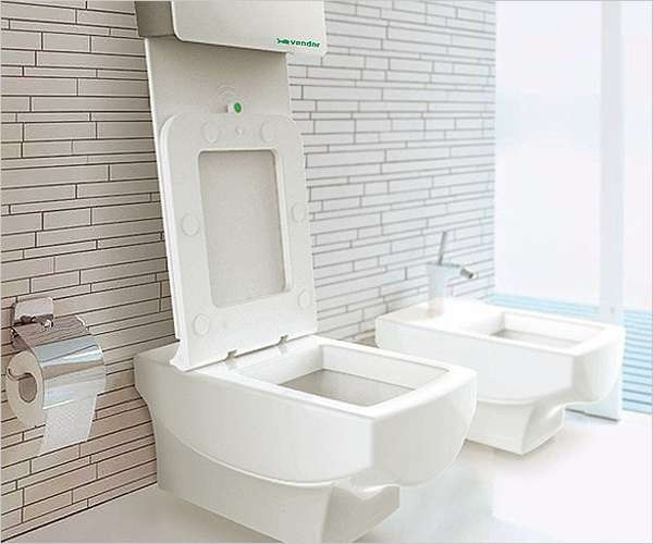 CSM Automatic Toilet System - сантехническая новинка для поддержания санитарных норм в уборных общественных мест