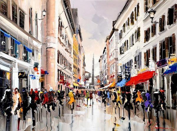 картина художник kal gajoum-09