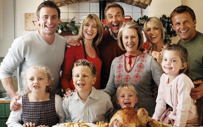 Традиционное празднование Дня Благодарения в Англии
