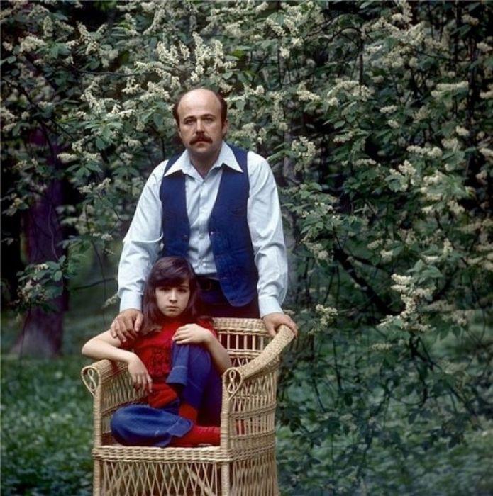 Александр Калягин с дочерью. / Фото: www.negani.com