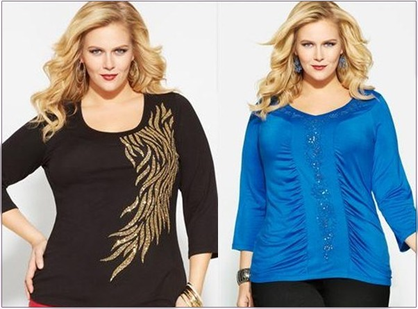 dff1b2a23d55bc9 Нарядные блузки для полных женщин – модные тенденции и секреты выбора  Power.ladyblissme.ru