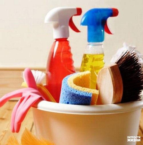 Кухонные хитрости или как очистить предметы быта без использования бытовой химии