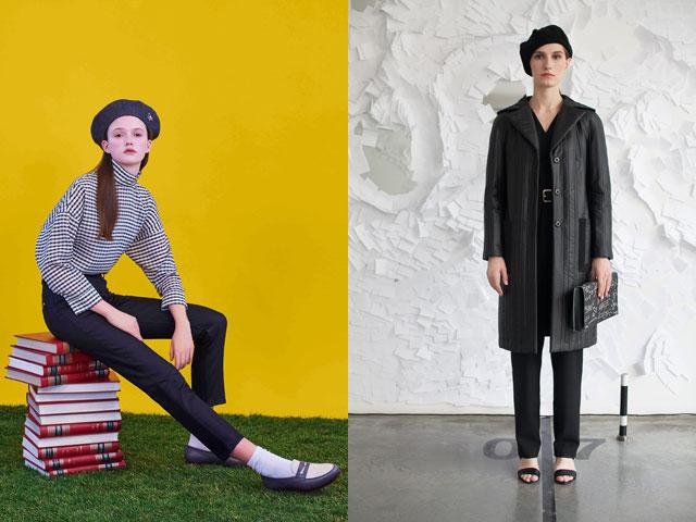 Модные береты сезона осень-зима 2016-2017