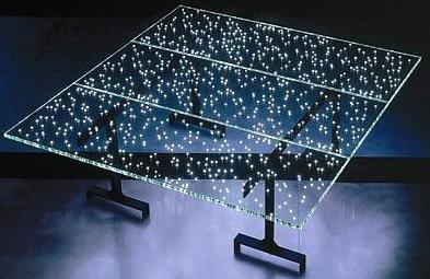 Столик со светодиодной лентой