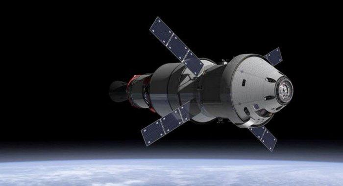 Космический аппарат Orion.