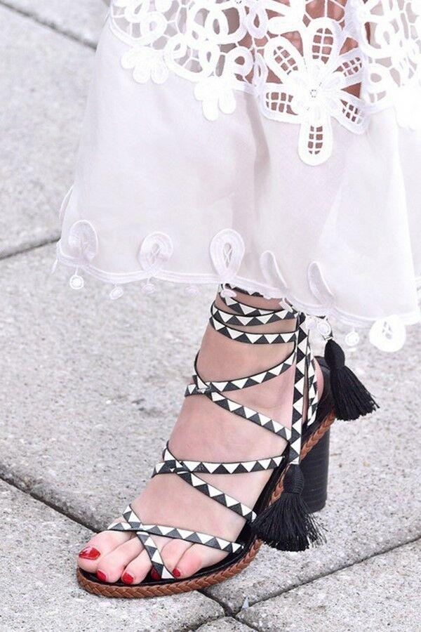 22a82cf12 Фото подборка примеров самой модной обуви весна-лето 2019 – новинки и  тренды сезона