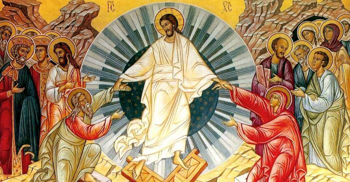 икона христово воскресение