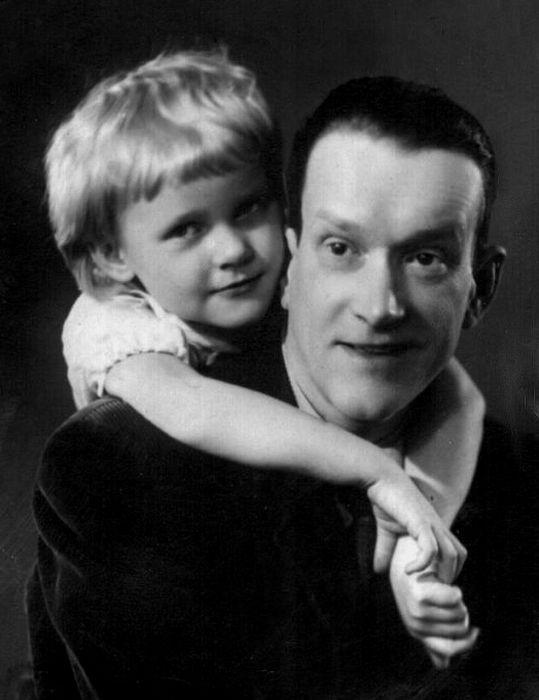 Пётр Репнин с дочерью Ольгой. / Фото: www.mtdata.ru