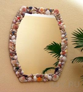 декорирование зеркала