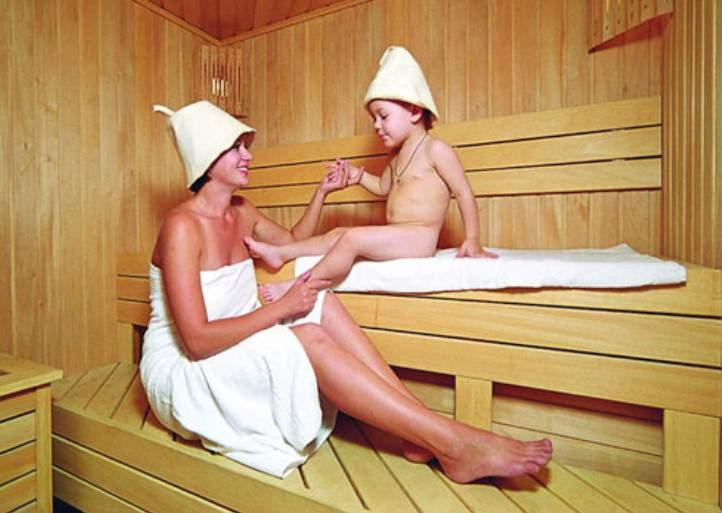 женщина голая парится в бане с мальчиком