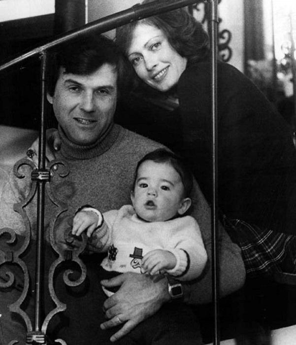 Виктория Яковлевна с мужем-американцем Ричардом и сыном Кристофером.