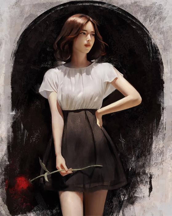 Юн Сон Ён. Автор: Justine Florentino.