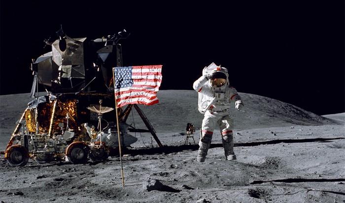 NASA: оригинал аудиозаписи высадки на Луну.