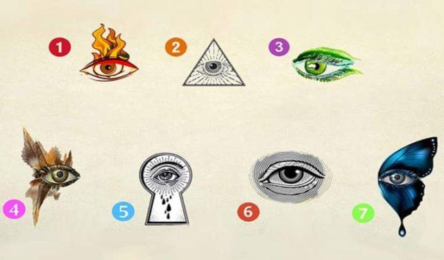 Тест: выберите глаз и узнайте, какой внутренний птенциал в вас скрывается