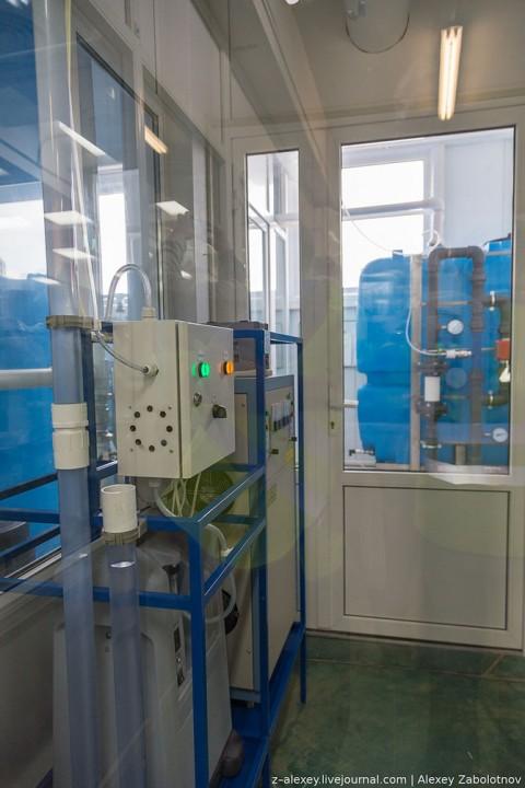 Как работает завод по производству питьевой воды