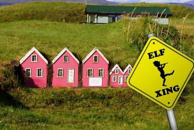 Тролли и эльфы в Исландии