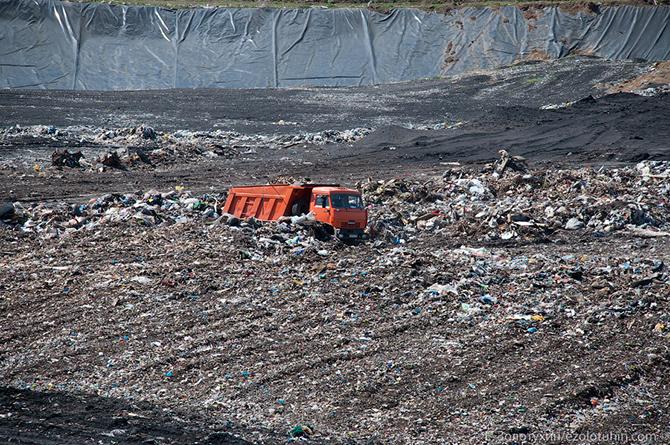Куда уходит мусор...