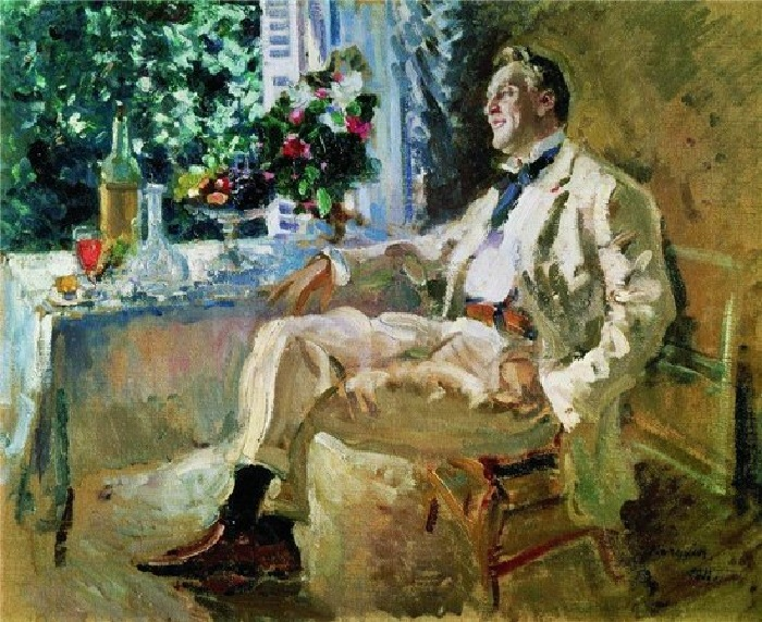Портрет Федора Шаляпина. Автор: Константин Коровин.