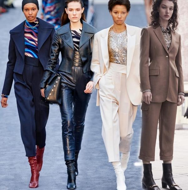 Женские брючные костюмы: тенденции 2020