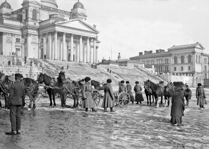 Сенатская площадь 19 века. /Фото: 2.bp.blogspot.com