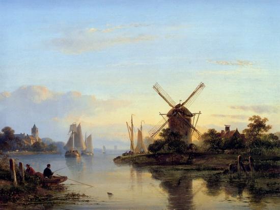 художник Лодевейк Йоханнес Клейн (Lodewijk Johannes Kleijn) картины – 13