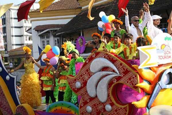 Карнавал в Гоа, Индия