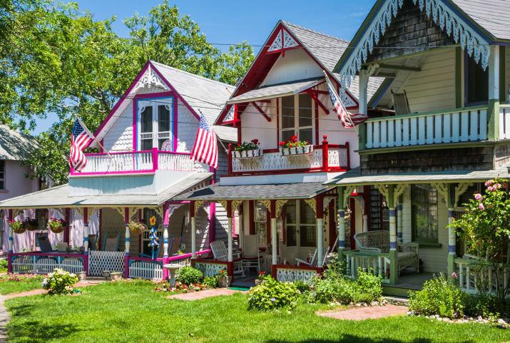 Ок Блафс, штат Массачусетс, США Сказочно, города, красиво, места, мир, пейзаж, планета, фото