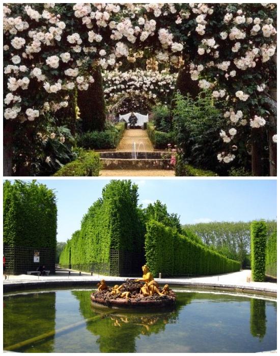 Сады и парк Версаля являются основной частью Национального достояния Трианон и Версаля (Франция). | Фото: mirkrasiv.ru.