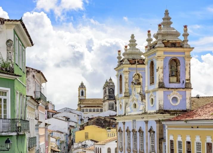 Пелоринью, Сальвадор, Бразилия Сказочно, города, красиво, места, мир, пейзаж, планета, фото