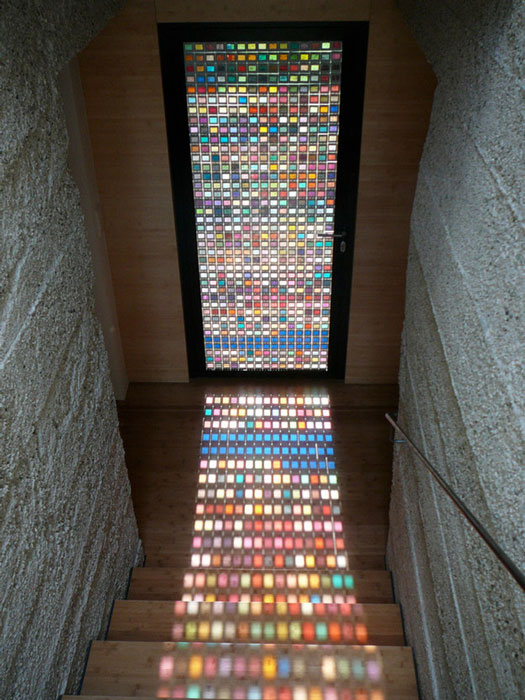 Мозаичная дверь.