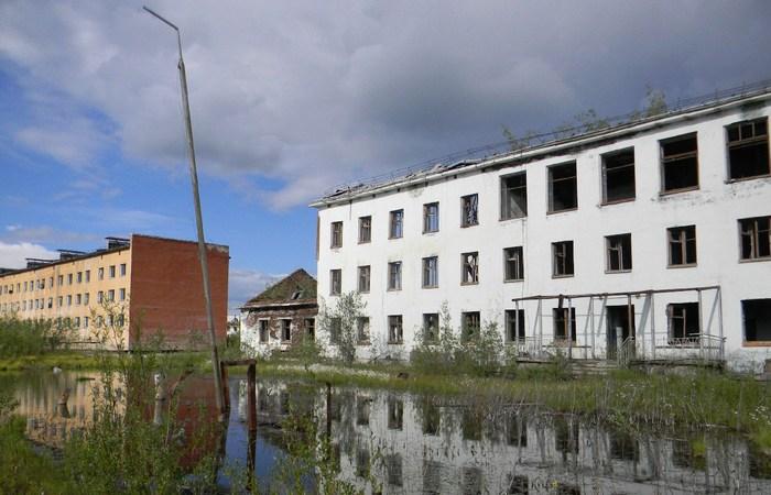 Город-призрак Кадыкчан.