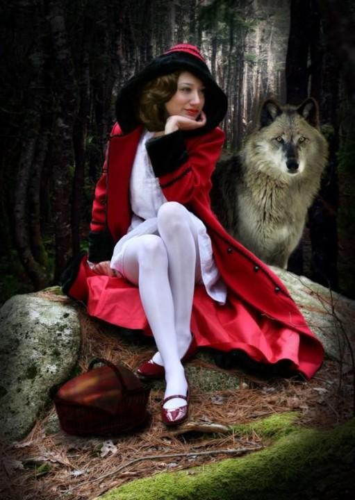 Как бы рассказали сказку «Красная Шапочка» известные писатели? приколы, юмор, писатели, сказка, фантазия