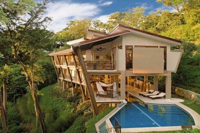 houseinwood04 Самые красивые дома в лесу