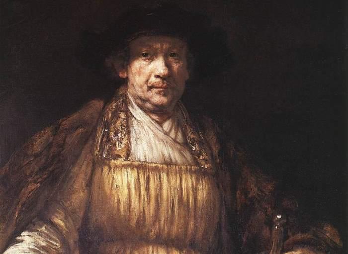 Рембрандт. Автопортрет 1658 г. Фрагмент | Фото: rembr.ru