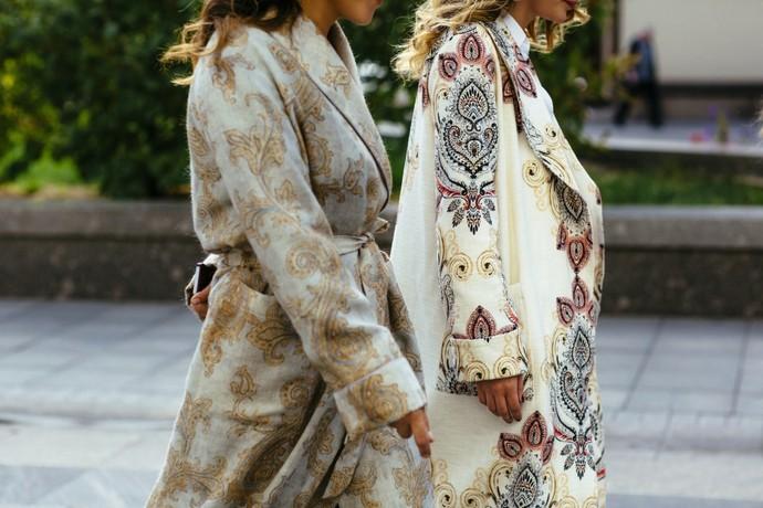 Бренд IZBA ROUGE представил коллекцию в пижамном стиле