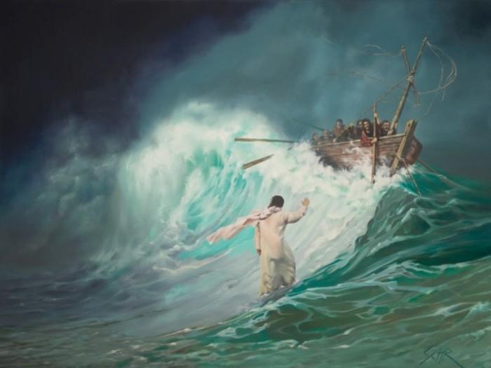 Море Галилея. Автор: Eddie Schrieffer.