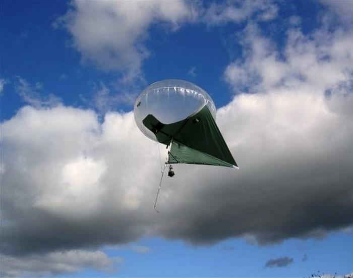Кайтун — гибрид воздушного змея и воздушного шара.