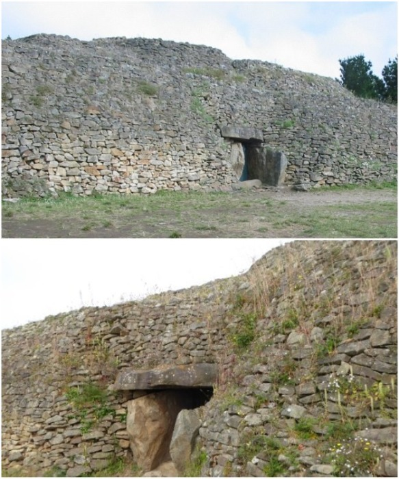 Коридорная гробница Гавриниса, найденная в заливе Морбиан, относится к эпохе неолита.   Фото: tripadvisor.fr.