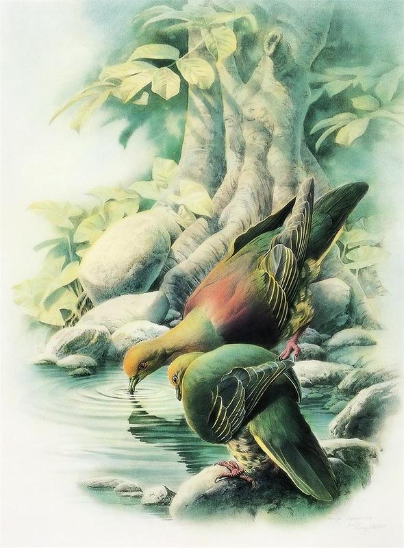 Восточное искусство художника Zeng Xiao