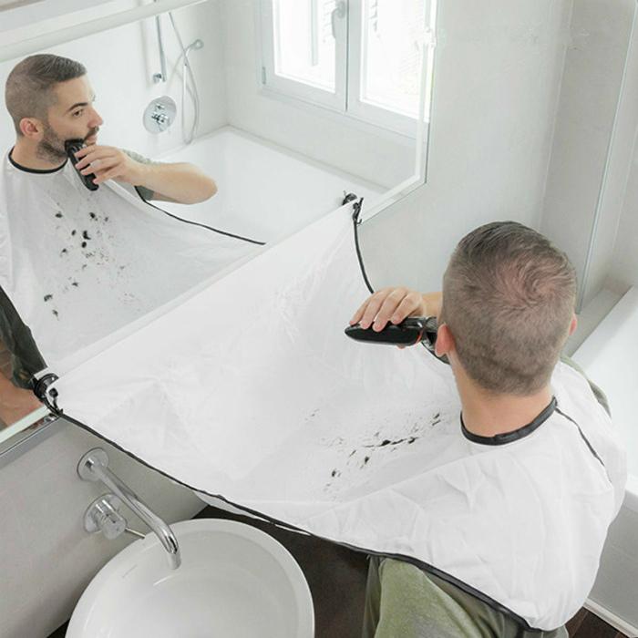 Фартук для домашнего бритья. | Фото: Bol.com.