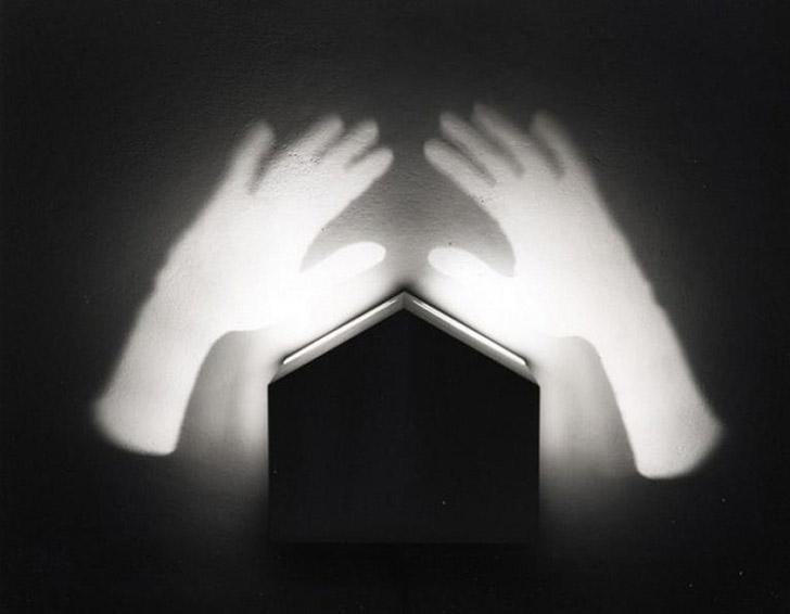 shadows12 Художник, рисующий тенью