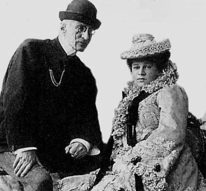Великий князь Николай Константинович и его жена княгиня Надежда Искандер (ур. Дрейер) в Ташкенте. /Фото: cdni.rbth.com