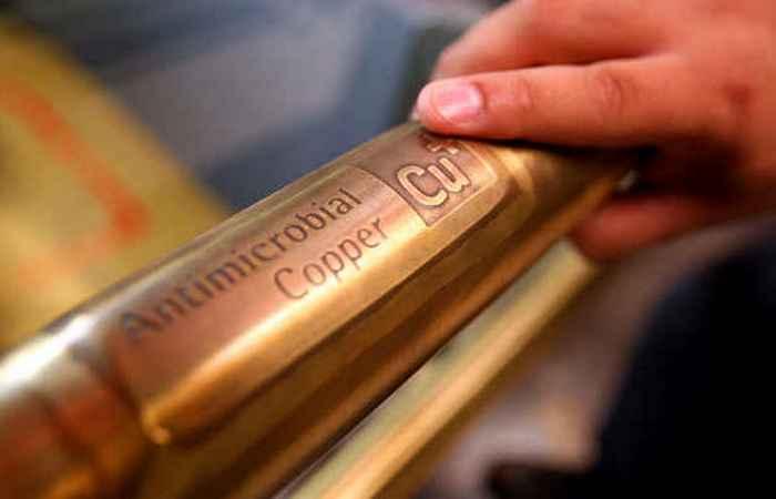 Медь имеет антимикробные свойства.