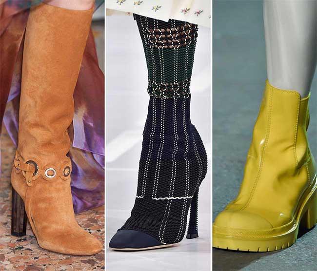 Сапоги и ботинки - тенденции весна-лето 2015