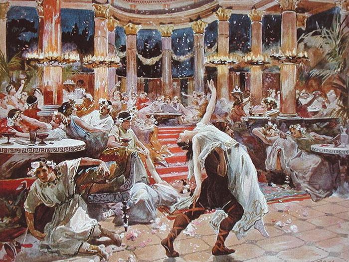 Празднование Нового года в Древнем Риме.